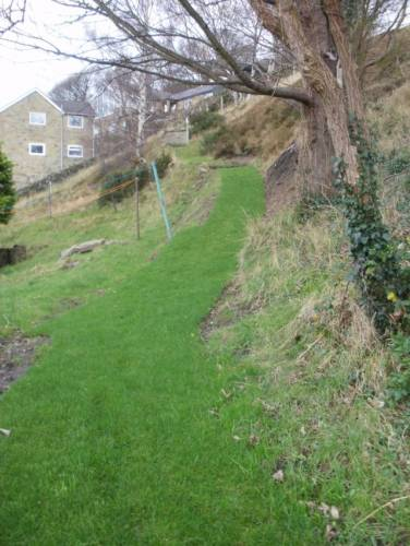 "December 2015 - New ""User Friendly"" path on the Lower Arbour"